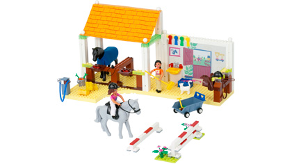 Riding School 5941 Lego Building Instructions