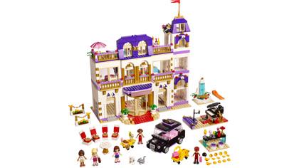 Heartlake Grand Hotel 41101 Lego Building Instructions