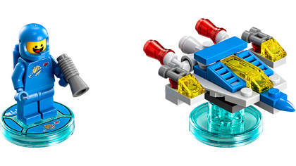 Lego Movie Benny Minifigure Mini Figure from 71214