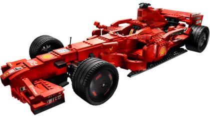 Ferrari F1 1 9 8157 Lego Building Instructions