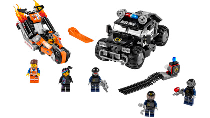 Super Cycle Chase 70808 Lego Building Instructions