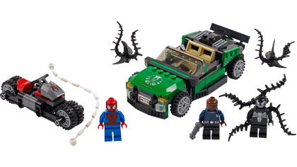 Spider Man Spider Cycle Chase 76004 Lego Building Instructions
