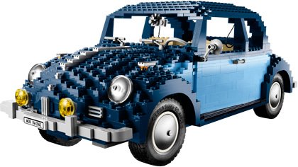 Advanced models: lego volkswagen beetle instructions 10187.
