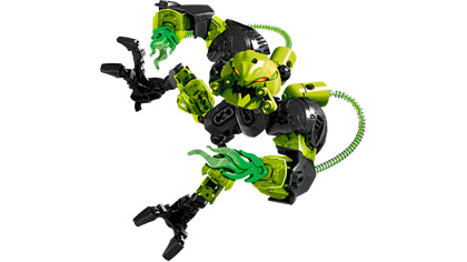 Toxic Reapa 6201 Lego Building Instructions