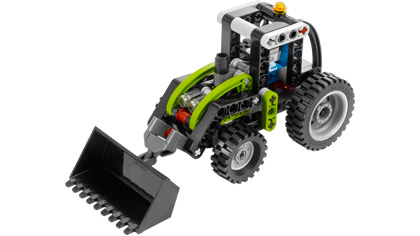 Tractor 8260 Lego Building Instructions