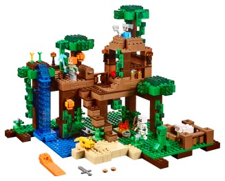 The Jungle Tree House 21125 Lego Building Instructions