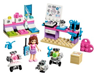 Olivias Creative Lab 41307 Lego Building Instructions