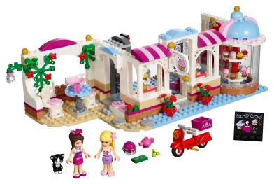 Heartlake Cupcake Café 41119 Lego Building Instructions