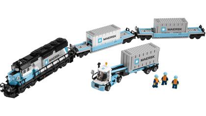 Maersk Train 10219 Lego Building Instructions