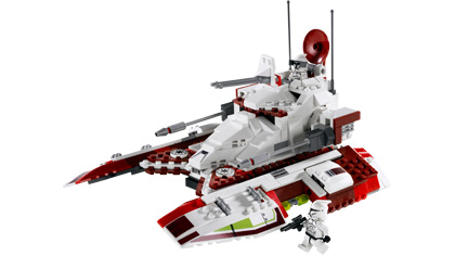 republic fighter tank 7679 lego building instructions