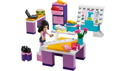 Emma S Fashion Design Studio 3936 Lego Building Instructions