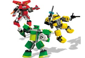 Mini Robots 4097 Lego Building Instructions