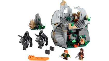 LEGO Instruction Notice The Lord of the Rings Attack on Weathertop 9472