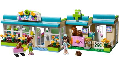 Heartlake Vet 3188 Lego Building Instructions