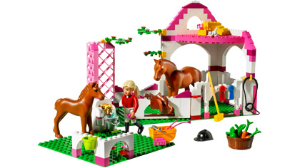 Horse Stable 7585 Lego Building Instructions