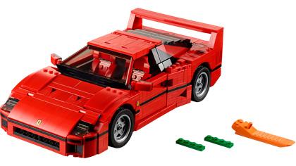 Ferrari F40 10248 Lego Building Instructions