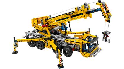 Mobile Crane 8053 Lego Building Instructions