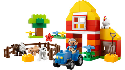 My First Lego Duplo Farm 6141 Lego Building Instructions