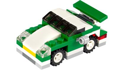 Mini Sports Car 6910 Lego Building Instructions