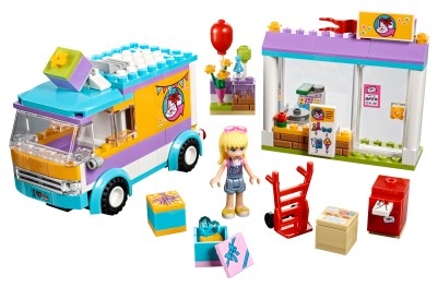 close to Friends series building instruction LEGO Truck