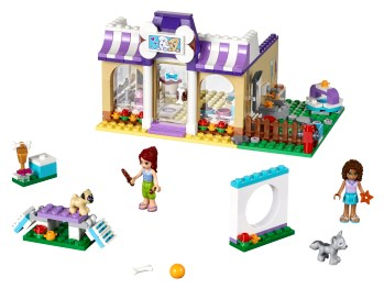 Heartlake Puppy Daycare 41124 Lego Building Instructions