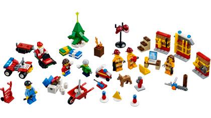 Lego city advent calendar 4428 lego building instructions for Adventskalender duplo