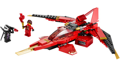 Kai Fighter 70721 Lego Building Instructions