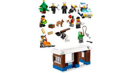 Lego City Advent Calendar 7553 Lego Building Instructions
