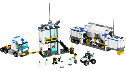 Police Command Center 7743 Lego Building Instructions