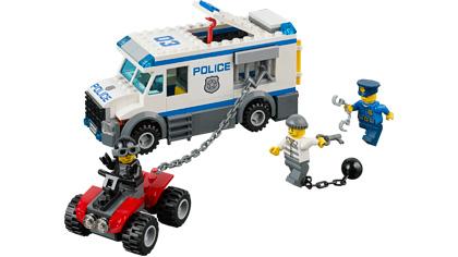 Prisoner Transporter - 60043 - Lego Building Instructions