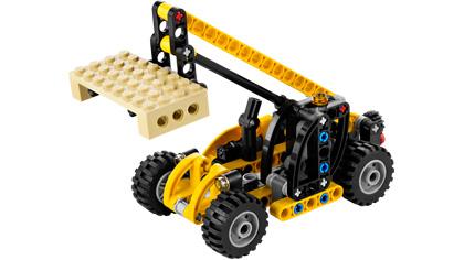 Mini Telehandler 8045 Lego Building Instructions