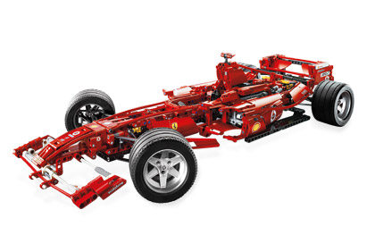 Ferrari F1 1 8 8674 Lego Building Instructions