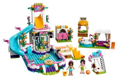 Heartlake Summer Pool 41313 Lego Building Instructions