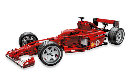 Ferrari F1 Racer 1 10 8386 Lego Building Instructions