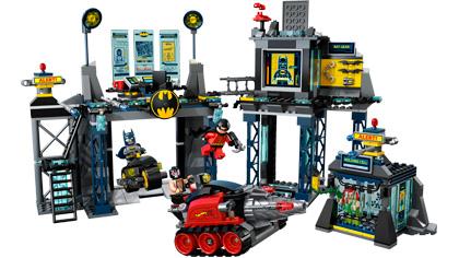 The batcave 6860 lego super heroes building instructions.