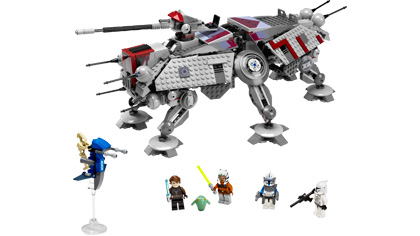 Bricklink set 7675-1: lego at-te walker [star wars:star wars.