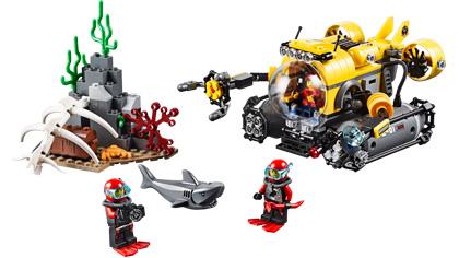Deep Sea Submarine - 60092 - Lego Building Instructions