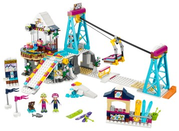 Snow Resort Ski Lift 41324 Lego Building Instructions
