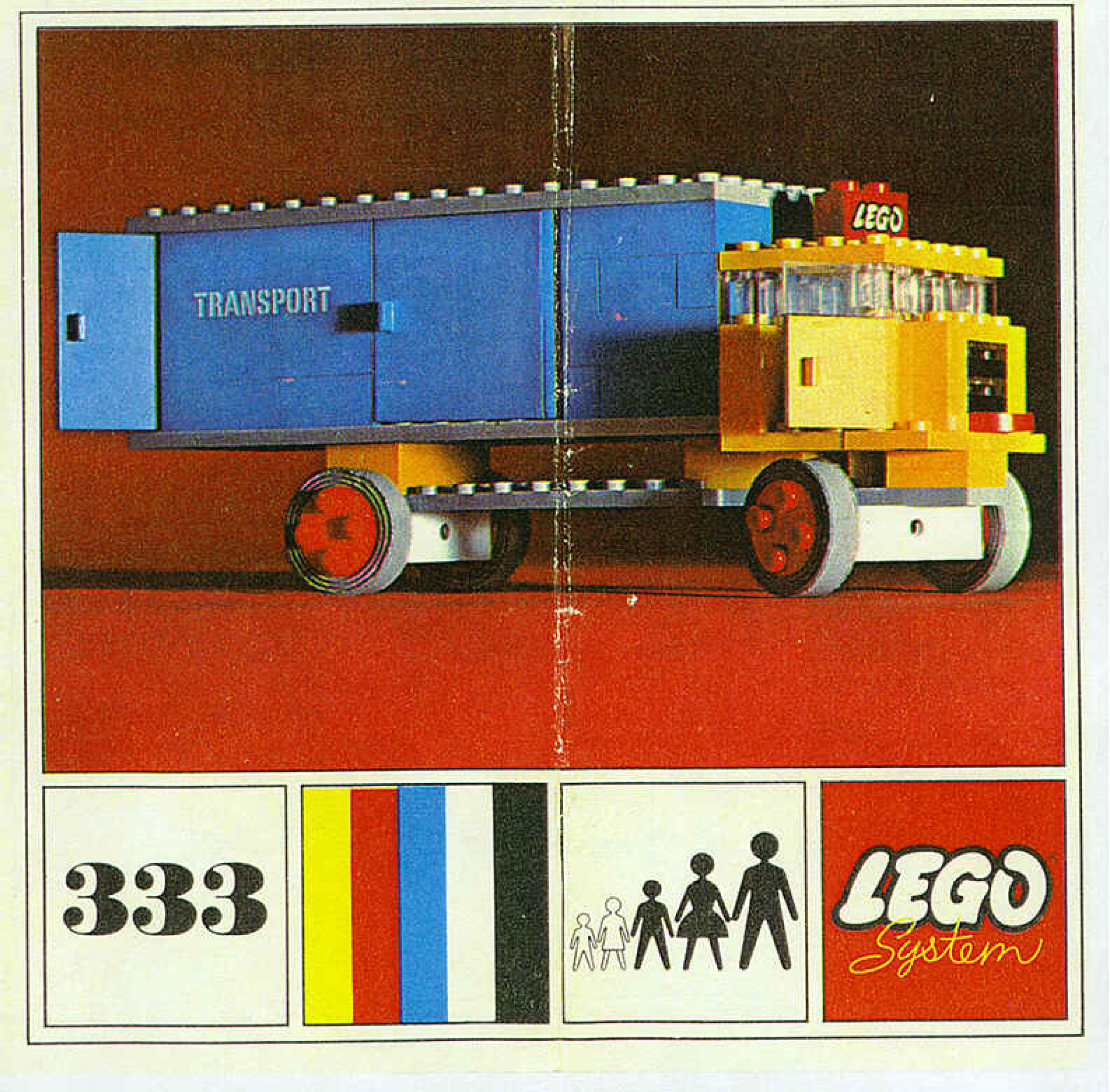 Lego System 333 Year 1967 Lego Building Instructions