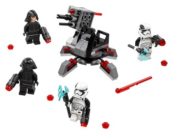 First Order Specialists Battle Pack - 75197 - Lego Building