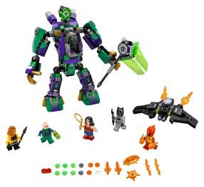 Lex Luthor™ Mech Takedown - 76097 - Lego Building Instructions