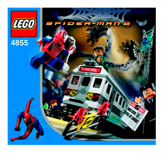 Spider Man 2 Mania 65572 Lego Building Instructions
